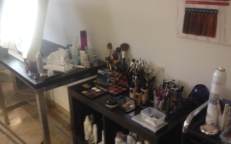 make up workshop petra sickenius make up studio. Black Bedroom Furniture Sets. Home Design Ideas